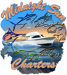 Midnight Sun Fishing Charters Logo