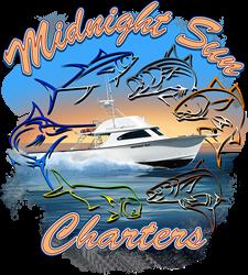 Midnight Sun Fishing Charters Logo